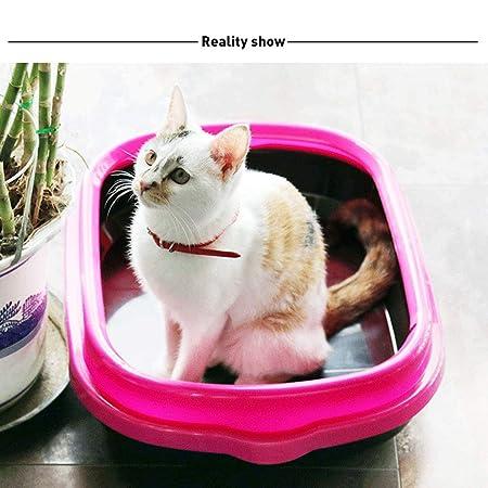 Amazon.com: Bandeja de arena para gatos, caja de inodoro ...