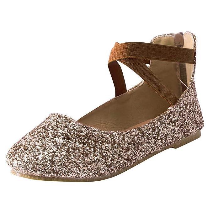 Alaso - Zapatos de bailarina para mujer, ballet, planos ...