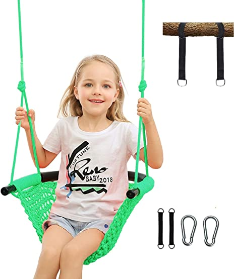 3-IN-1 Climbing Rope Kids Disc Hanging Swing Seat Set Outdoor Backyard Toy 200kg