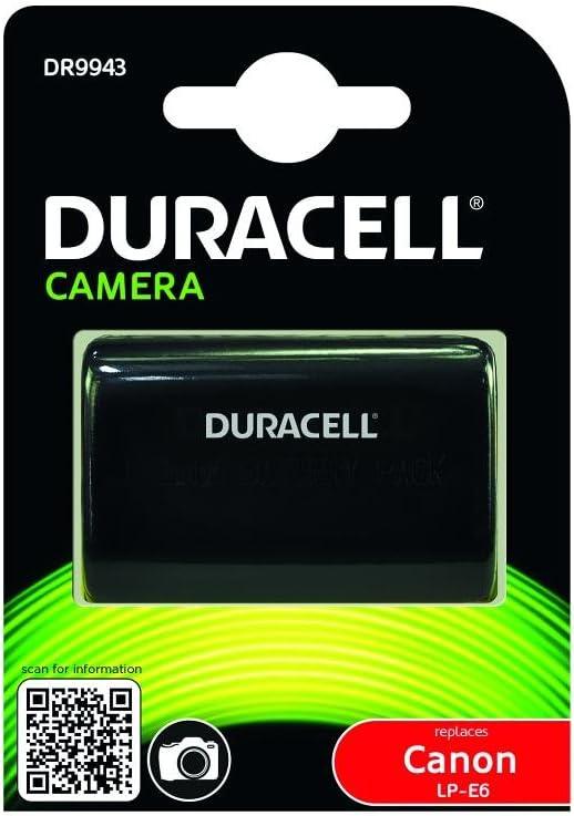 Duracell Dr9943 Li Ion Kamera Ersetzt Akku Für Lp E6 Kamera