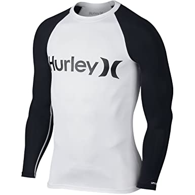 Hurley One And Only - White - Men's Rashguard