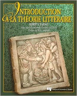 Book Introduction à La Théorie Littéraire