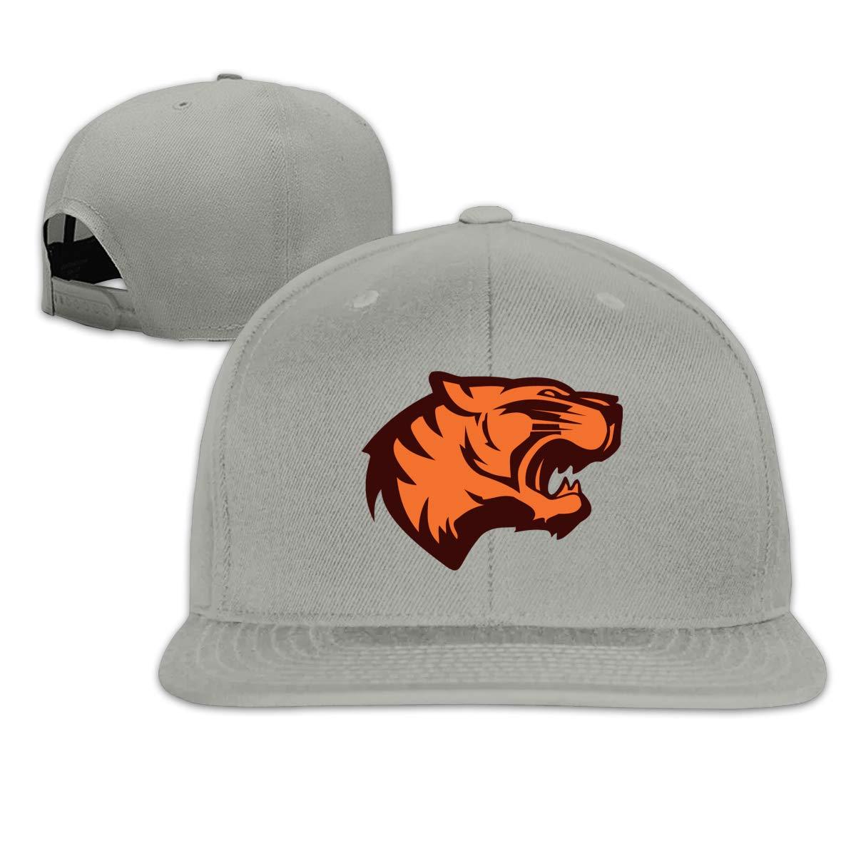 Tiger Face Flat Brim Baseball Cap Adjustable Snapback Trucker Hat Caps Hip Hop Hat