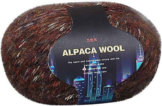 TwoCC-Lana,paquete esencial de bolas de lana suave - Alpaca ...