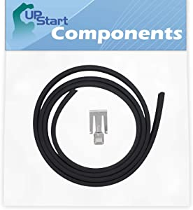 W10542314 Dishwasher Door Gasket Replacement for Whirlpool DU1055XTSB3 Dishwasher - Compatible with W10542314 Door Seal - UpStart Components Brand