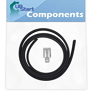 W10542314 Dishwasher Door Gasket Replacement for Whirpool, Kenmore & KitchenAid Dishwashers - Compatible with Part Number AP5650274, 2409202, 8268888, PS5136129