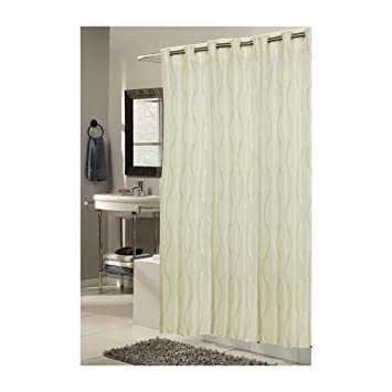 Amazon.com: Carnation Home Fashions EZ On No Hooks Needed! 108 by ...