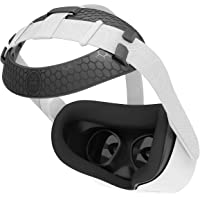 AMVR Head Back Padding, Gravity Pressure Balance Cushion Comfortable Soft TPU Pad Accessories for Oculus Quest 2 Headset…