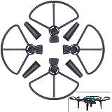 Nicertain DJI Spark Propeller Guards + Landing Gear Leg Extenders, 2 in 1 Accessories Set for DJI Spark Drone