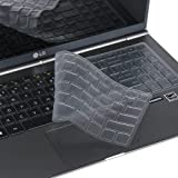 "Leze - Ultra Thin Keyboard Skin Cover for 15.6"" LG Gram 15Z960/15Z970/15Z975/15Z980/15Z990/15Z90N,17"" LG Gram 17Z990…"
