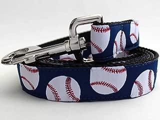 product image for Baseball Custom Dog Collar (Optional Matching Leash Available)