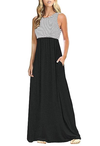 70051ae9cd OURS - Vestido Largo con Bolsillos para Mujer