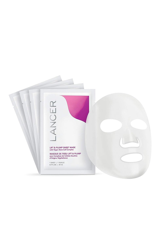 Lancer Skincare Lift and Plump 4 Sheets Mask