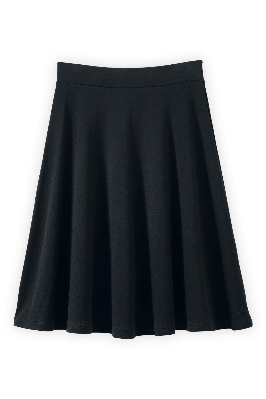 Fair Indigo Fair Trade Organic Full Skirt (XS, Black) by Fair Indigo
