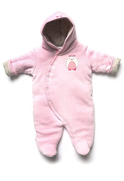 77facec66262 Baby Creysi Mameluco Reversible Rosa Gris Mameluco para Niñas Rosa Talla 12  M