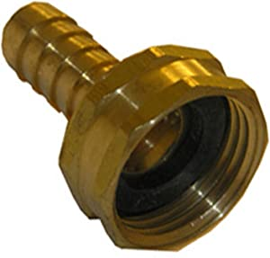 LASCO 15-1571 1/2-Inch Barb by 3/4-Inch Female Garden Hose Repair Coupling