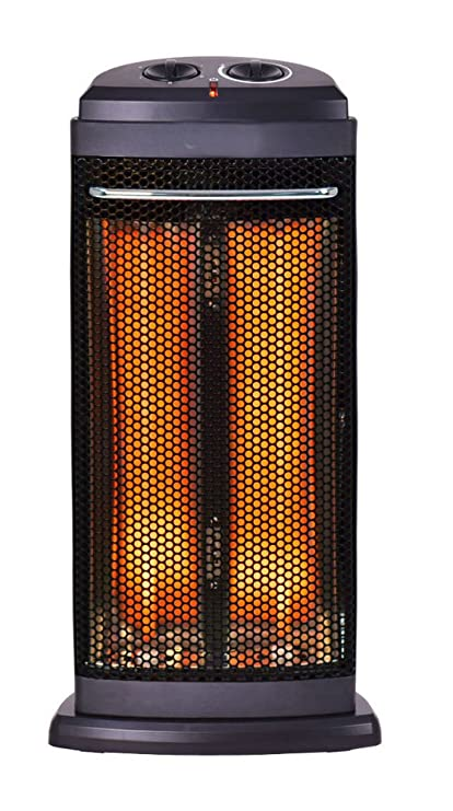 Ordinaire Infrared Electric Quartz Heater Living Room Space Heating Radiant Fire Tower