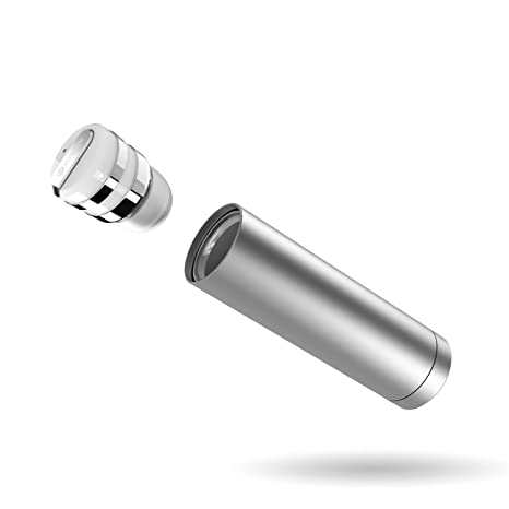 Rowkin Mini Plus + Auriculares inalámbricos, Auricular Bluetooth 4.1 con micrófono. Auriculares estéreo inalámbricos