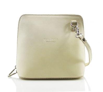 b6a0760e215 Genuine Italian Leather Vera Pelle Mini Cross Body Bag or Shoulder Bag