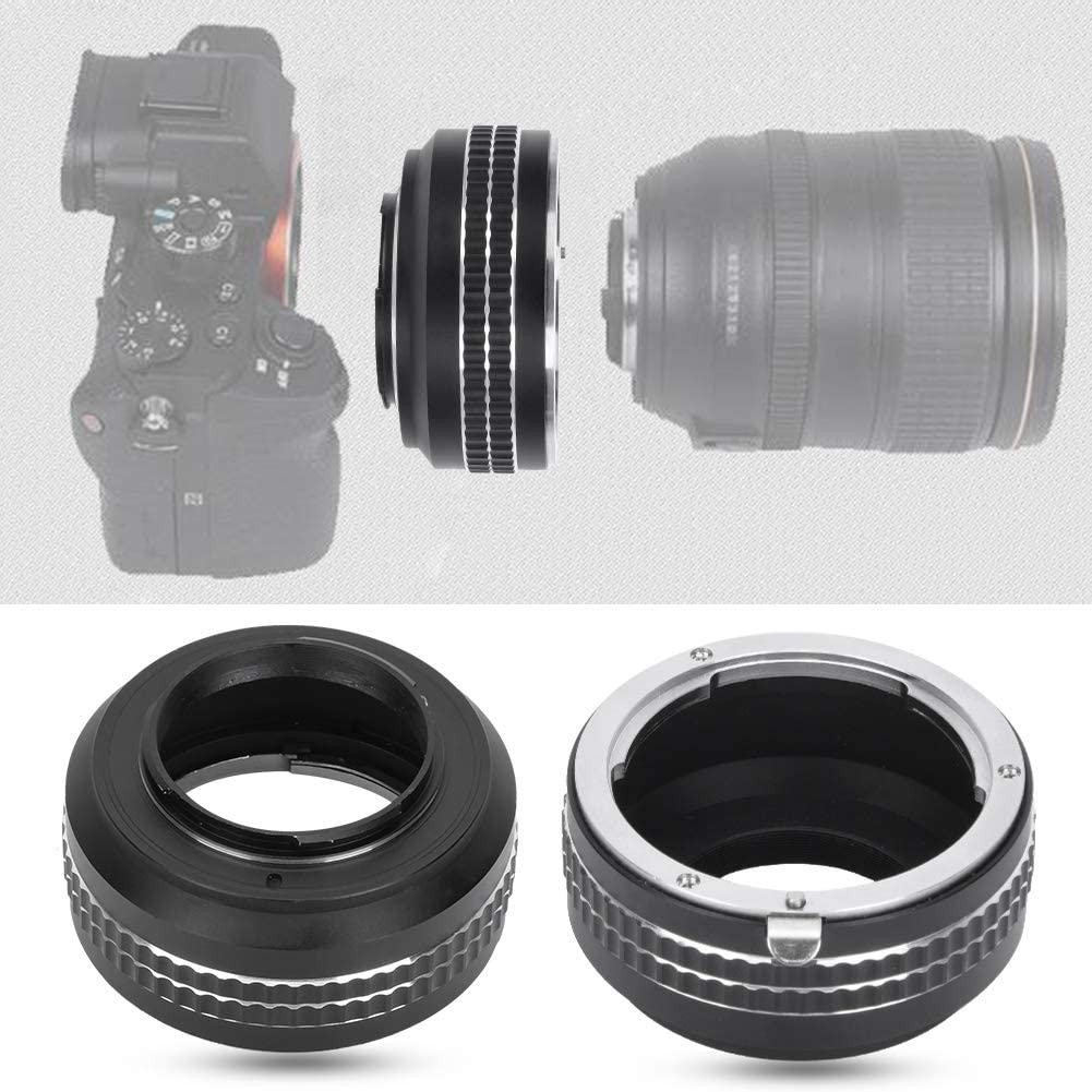 Metal Lens Adapter Ring Camera Lens Adapter Ring for Leica LR Mount Lens to Fit for Olympus Mirrorless Camera