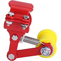 Motorcycle Length Length Modified Chain Tensioner Adjuster(Rojo)