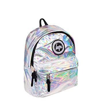 0acbb0aeb2a0 Hype Holo Silver Mini Backpack Bag - Rucksack - Kids School Bags ...
