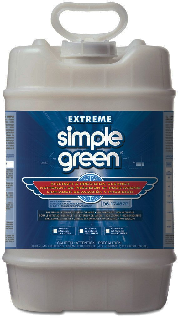 Simple Green 13405 Extreme Aircraft and Precision Cleaner, 5 Gallon Bottle by SIMPLE GREEN (Image #1)