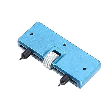 nicerio reloj caso abridor de parte trasera ajustable tornillo de remover llave herramienta de reparación de
