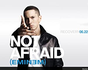 Remarkable Poster's Eminem Singer Don't Afraid Quoted 12 x 18 Inch Poster Ultra HD Multicolour Unframed Rolled Print Great Wall Decor