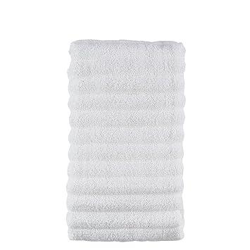 Zone Denmark Prime 50 x 100cm Algodón Color Blanco - Toallas de baño (Algodón,