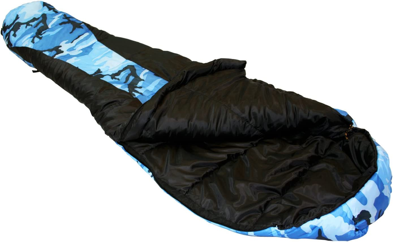 72 X 26 X 17 Ledge Sports Youth River Jr +0 F Degree Mummy Sleeping Bag 5380 Blue
