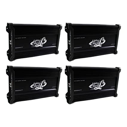 LANZAR HTG447 2000W 4 Channel Car Digital Amplifier Power Amp A//B Stereo MOSFET