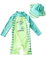 BANGELY Baby Boy Summer Long Sleeve One Piece RashGuard Swimsuit Sun Protection Swimwear