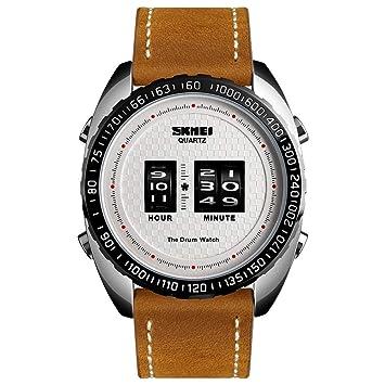 Amazon.com: XBKPLO - Reloj de pulsera para hombre, cuarzo ...