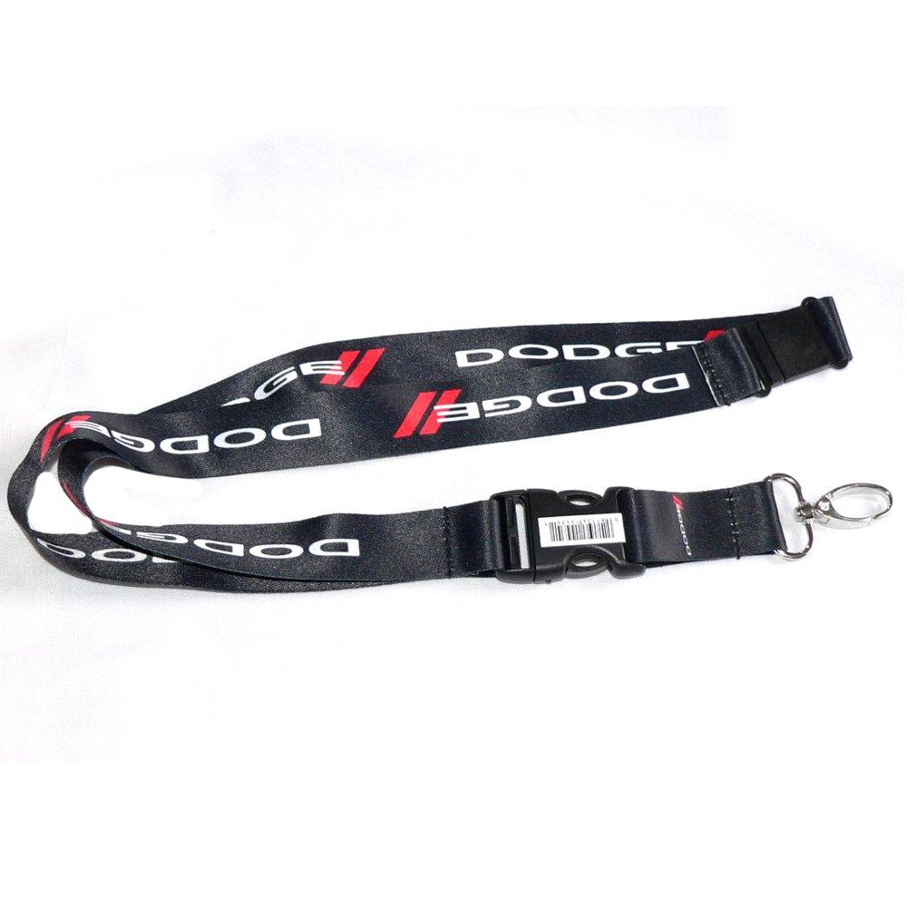 amazon com dodge keychain lanyard badge holder office products