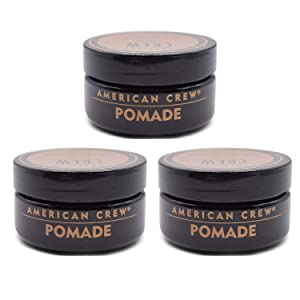 American Crew Pomade for Medium Hold with High Shine, 1.75 oz (Pack of 3)