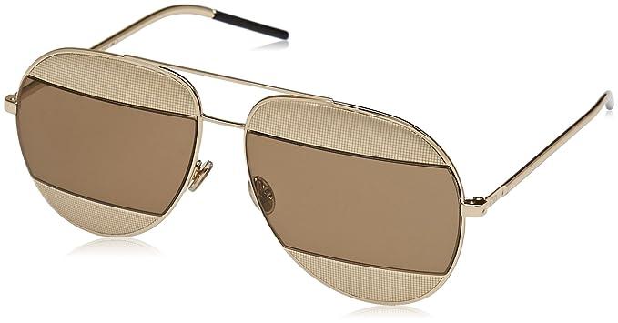 8f0d48febc Christian Dior Diorsplit1 5V J5G 59, Montures de lunettes Femme, Or (Gold/