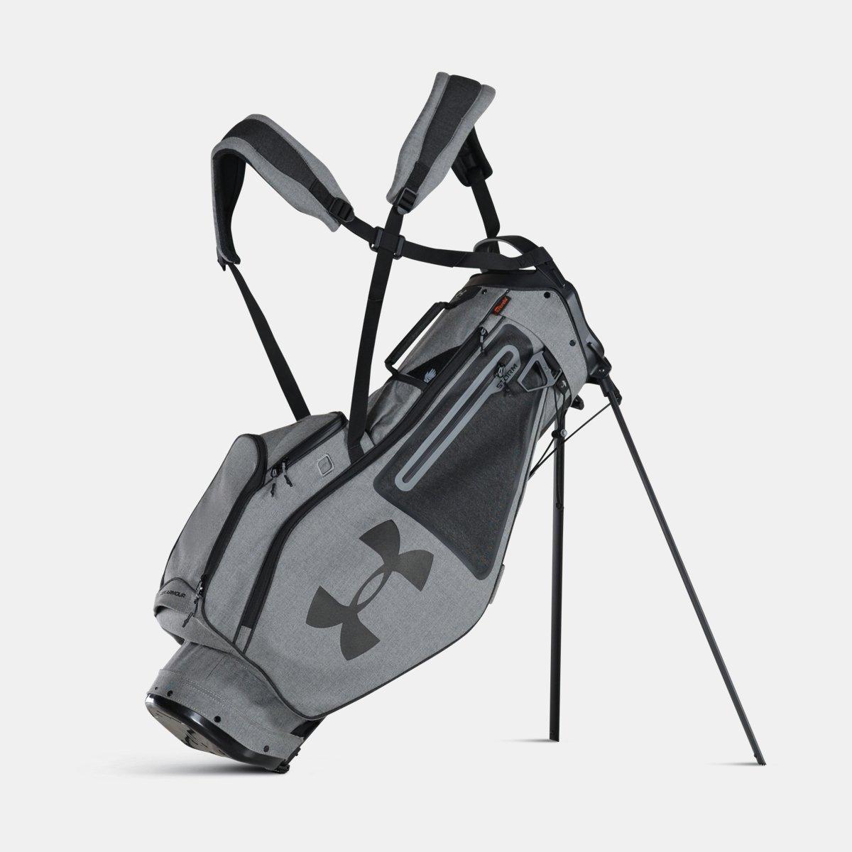 [UNDER ARMOUR] アンダーアーマー Men's UA Storm Speedround Sunbrella Golf Bag GRAPHITE MEDIUM HEATHER [並行輸入品]   B074Z4WZ3H