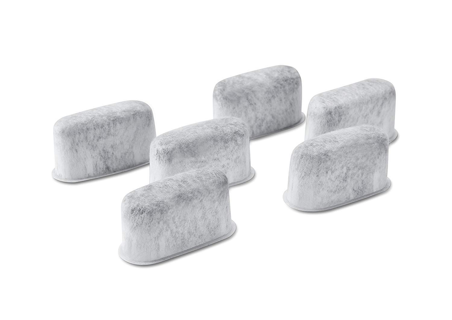 6-Pack Replacement Charcoal Water Filters for Kitchenaid KCM22WF Coffee Maker