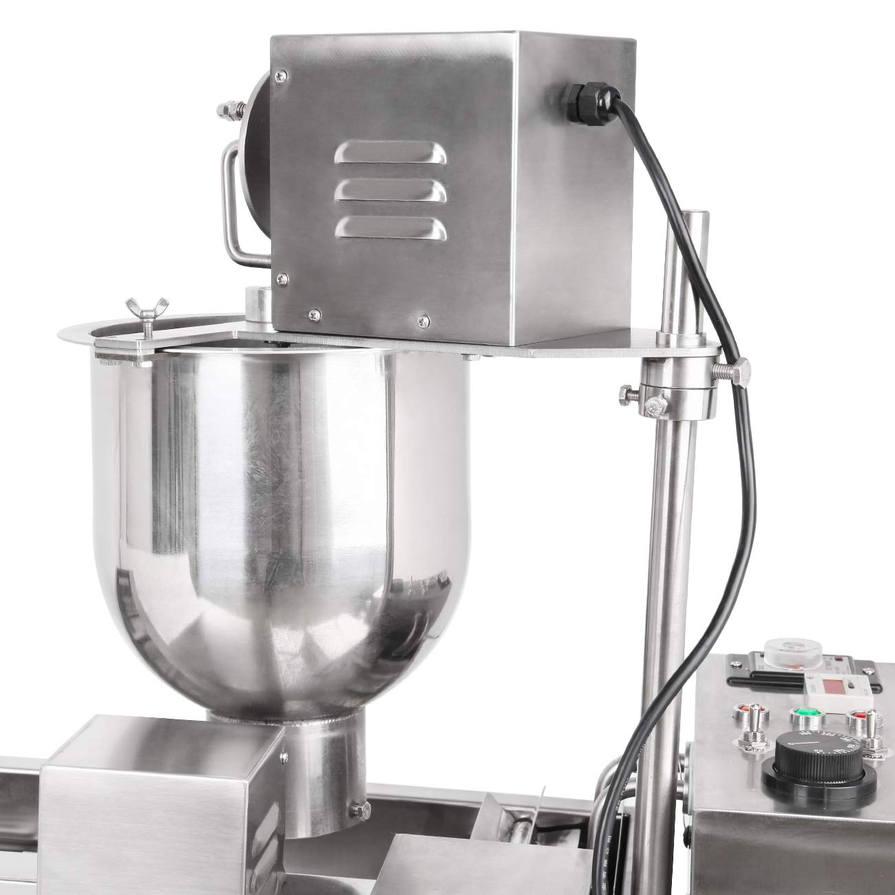 Ridgeyard Commercial Automatic Donut Making Machine Auto Donut Maker Machine with 3 Sizes Molds and 7L Bucket 110V 3000W, Ship From US by Ridgeyard (Image #9)