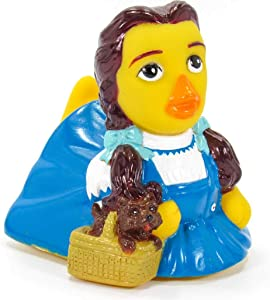 CelebriDucks Dorothy Wizard of Oz - Premium Bath Toy Collectible - Fantasy Movie Themed - Perfect Present for Collectors, Celebrity Fans, Music, and Movie Enthusiasts