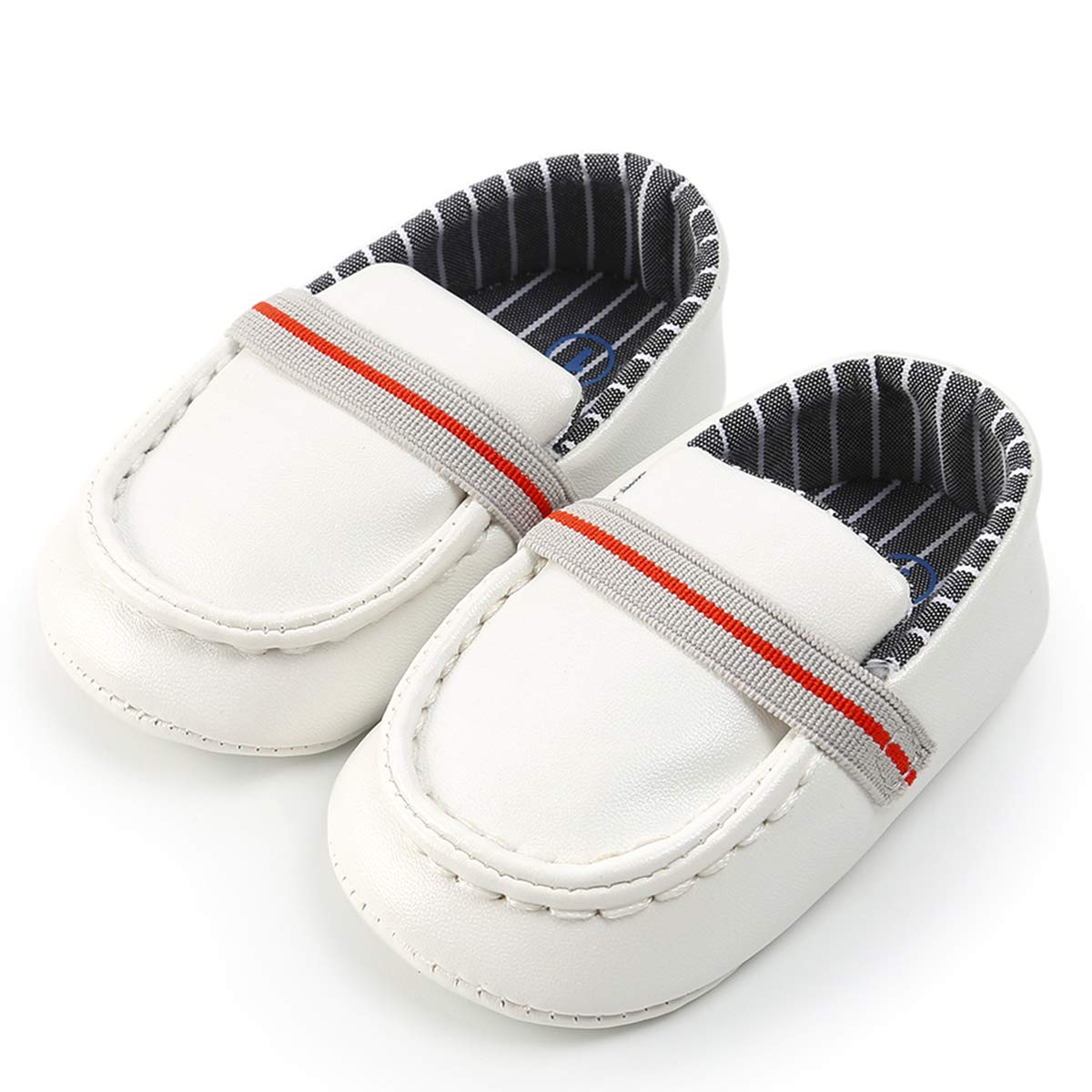 LIVEBOX Newborn Baby Boys Shoes Loafers Dress Flat Shoes Sneakers Crib Shoes