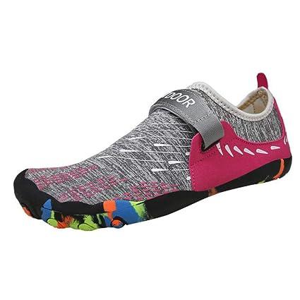 Amazon.com: Zapatos de agua Hy, unisex, protección de pie ...
