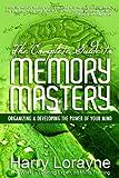 Memory Mastery, Harry Lorayne, 0883911892