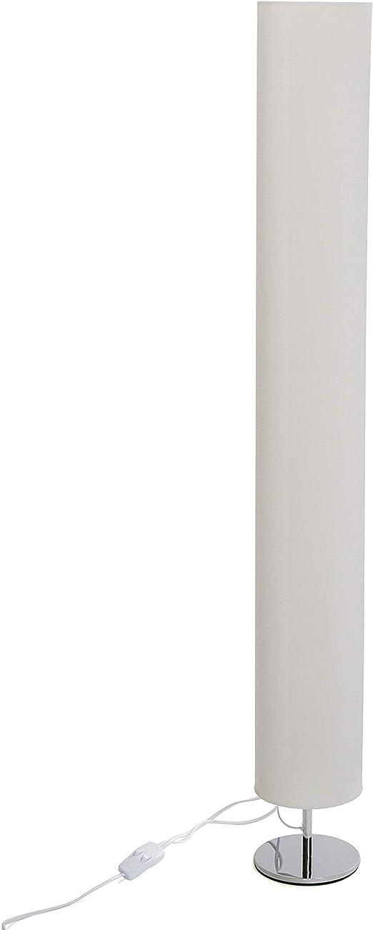 Versa 20790152 Lámpara de pie Blanco con tulipa Alargada, 118,5 x 15 x 15 cm: Amazon.es: Juguetes y juegos