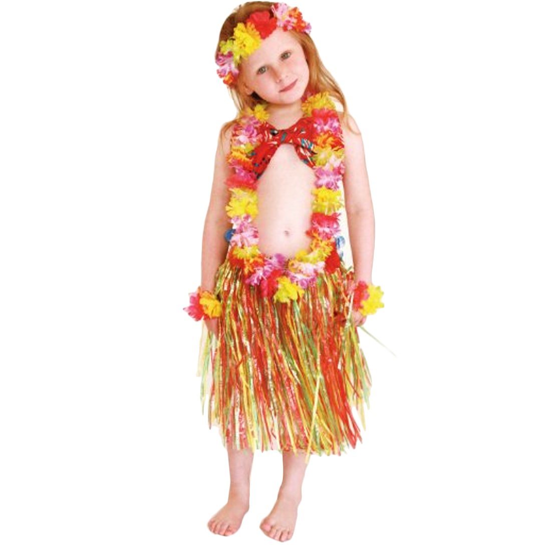 Birthday Party Favors - Perfect for luaus and beach-themed parties that your Hawaiian Princess and her friends can enjoy. Size Hula Skirts - Waist 52 - 76 ...  sc 1 st  russia-japan.date & kilofly 12pc - Girls Hula Elastic Hawaiian Dancer Grass Grass Hula ...