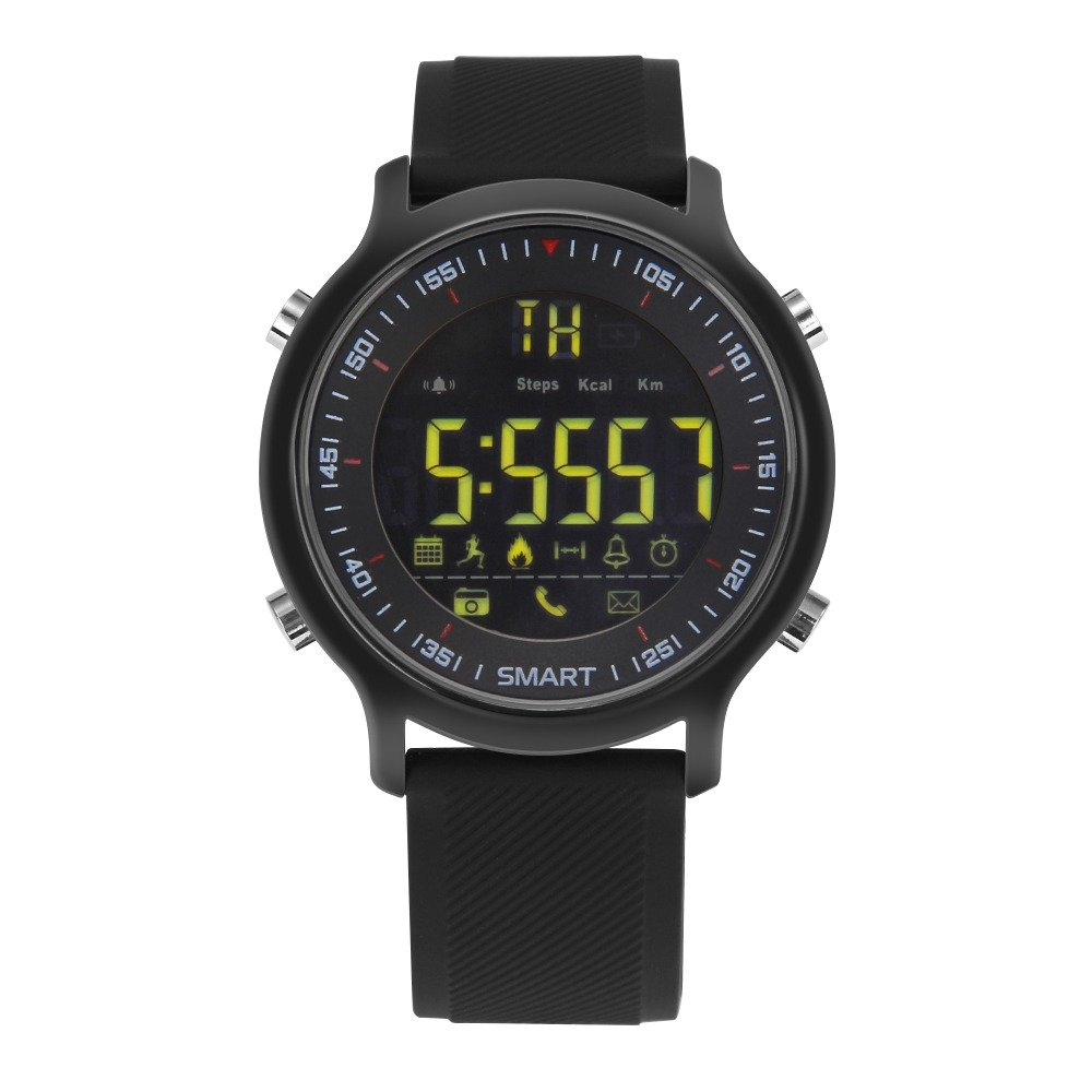 Elftear EX18 Smart Watch Men Sport Watch 5ATM Waterproof Bluetooth 4.0 Smartwatch Call...