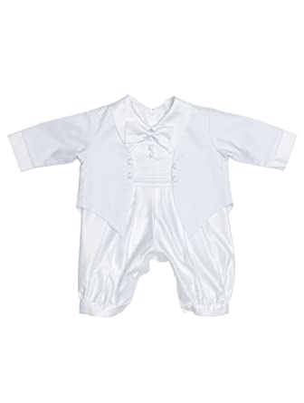 8c3b5f2e6 Coco Bebe, Baby Boys Romper Suit, Boys Christening Suit, Baby Boys  Christening Outfit, White Romper, 9-12 Months: Amazon.co.uk: Clothing