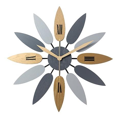 OviTop 52cm Orologio da Parete Orologio da Muro Silenzioso ...