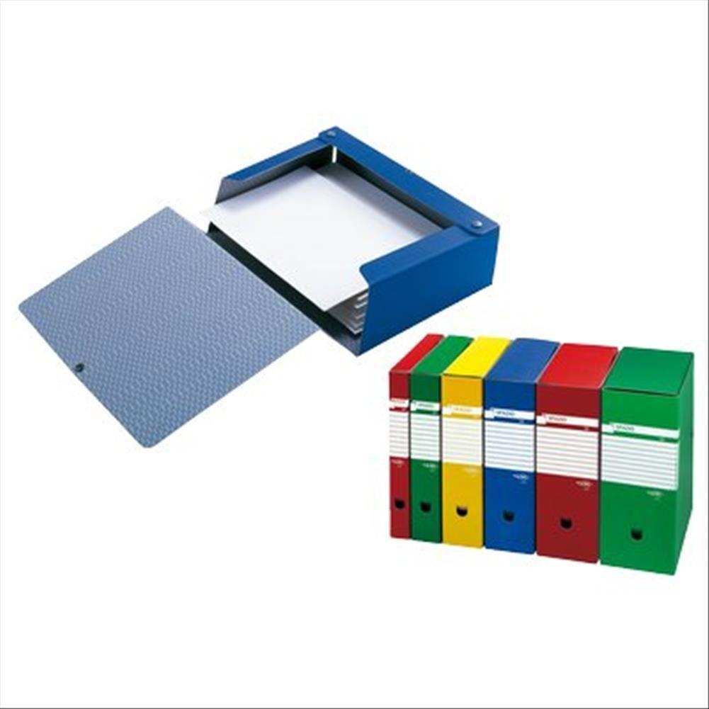Sei Rota 67891012 Cartelle Porta Documenti e Progetti, Dorso 10 cm, Rosso 125881